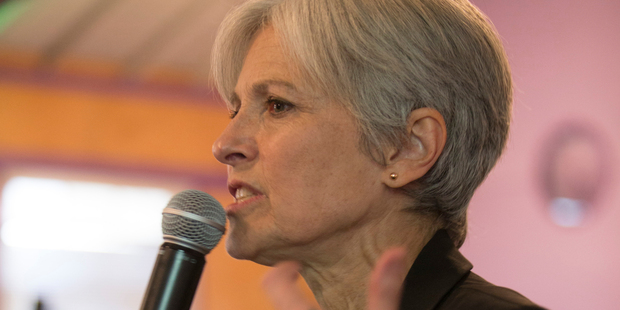 Loading Green party presidential candidate Jill Stein. Photo / AP