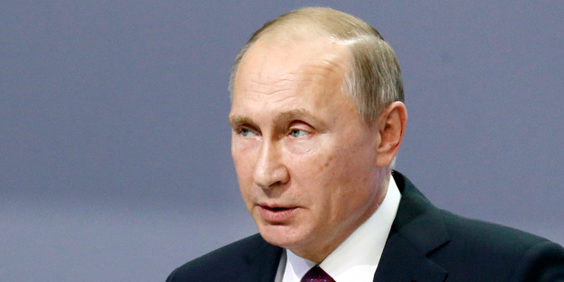 Russia's President Vladimir Putin has decided to move ballistic missiles to the key site of Kaliningrad, amid a NATO build up on the Polish side of the border. Photo / AP