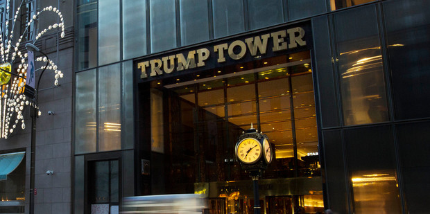 Before you tweet that Trump Tower is to be built in Auckland, read the whole story, question the source and see if there are any other articles to back it up.  Photo / AP