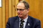 Whanganui MP and Deputy Speaker Chester Borrows at the Whanganui District Court. Photo / Wanganui Chronicle.