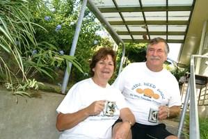 Sheila Ewart (left) founder of Kidz Need Dadz.