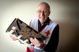 Red Cross volunteer David Garland.