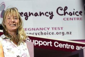 Pregnancy Choice Centre director Janice Tetley-Jones.
