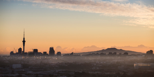 The view over Auckland from Mt Albert. Photo / Jason Oxenham