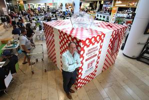 Steve Ellingford, Bayfair Shopping Centre manager.