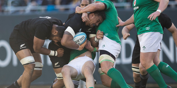 Loading Jerome Kaino's hard graft will be welcomed after he was injured against Ireland in Chicago. Photo / Brett Phibbs