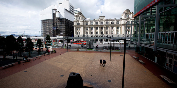 Queen Elizabeth Square near the waterfront can be sold to Precinct Properties. Photo/Dean Purcell