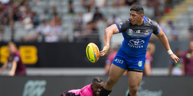 Jason Taumalolo will take part in testing this weekend in the hope of being picked up by an NFL side. Phoco / Brett Phibbs - NZ Herald.