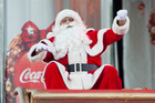 The Coca-Cola Christmas In The Park in Christchurch will go ahead this year, after initial fears it would be cancelled following this week's 7.8 mag earthquake. Photo / Herald on Sunday