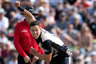 Rotorua's Black Caps fast bowler Trent Boult has been ruled out of the second test against Pakistan. Photo/File.