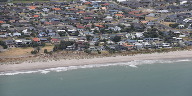 Papamoa on the Bay of Plenty coast is particularly vulnerable to near-source tsunamis. Photo / File