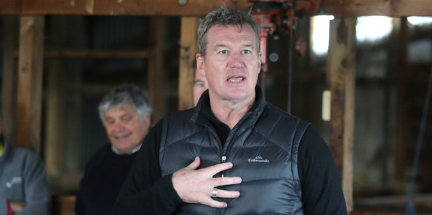 Sir John Kirwan is heading to Kaikoura to talk to locals about the affects of the recent earthquakes. Picture / NZME