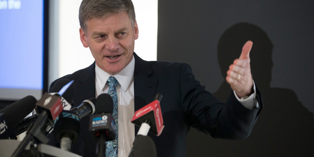 FInance Minister Bill English says the sale of 249 state houses in Horowhenua would have created too much uncertainty for tenants. Photograph: Mark Mitchell