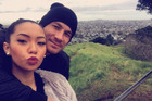 Sonny Bill Williams and wife Alana photographed up Mt Eden. Photo / Twitter