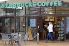 The rant began when the customer believed the Starbucks barista refused to serve him because he's a white Trump supporter. Photo / File