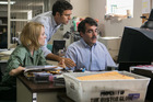 Rachel McAdams, Mark Ruffalo, and Brian d'Arcy, star as journalists in the movie Spotlight, an adaptation of the team at the Boston Globe who won a Pulitzer Prize for their work. Photo/supplied