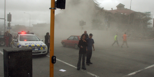 The February 2011 Christchurch Earthquake was an aftershock of the 7.1 quake that hit Darfield months before. Photo / File