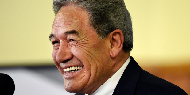Winston Peters is off to check out agricultural protectionism in Italy and France. Photo/ George Novak