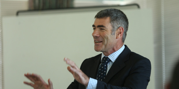 Primary Industries Minister Nathan Guy dismissed Nelson Cross from the South-East Marine Protection Forum. Bay of Plenty Times Photograph by John Borren.