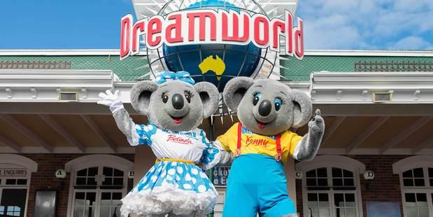 Dreamworld on Gold Coast Queensland.
