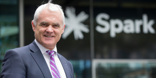 Loading Spark managing director Simon Moutter. Photo / NZ Herald