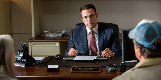 Ben Affleck stars in the movie The Accountant.
