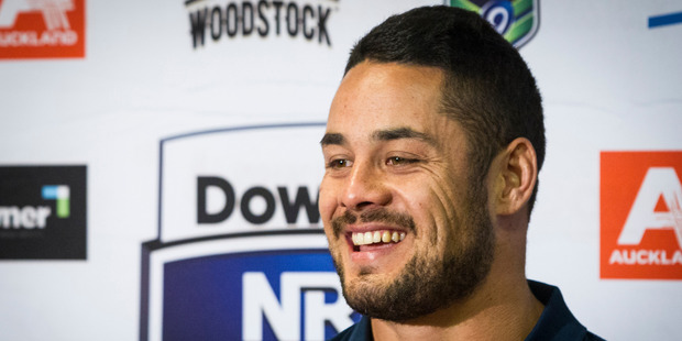 Jarryd Hayne, who will play in next year's NRL Auckland Nines, has escaped punishment over an alleged incident with a Hell's Angels member. Photo / Jason Oxenham - NZ Herald.