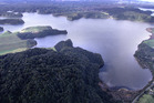 Aerial view of Lake Rotoehu, near Rotorua, where a health warning has just been released. Photo/file