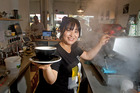 Shine Kim from Dry Dock Cake is one of three finalists for Tauranga's best barista at this year's inaugural Restaurant Association's Bay Hospitality Awards held on Sunday night. Photo/file