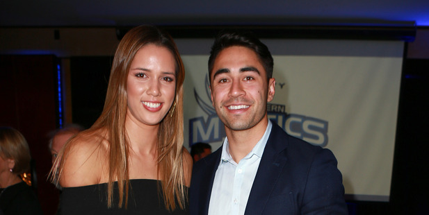 Kayla Cullen and Shaun Johnson are heading to Kaikoura. Photo / Norrie Montgomery