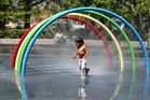 WATER OFF: The Hastings District Council has shut down the water supply to the splash pad play areas in Cornwall Park to conserve water in the face of a peak in usage.