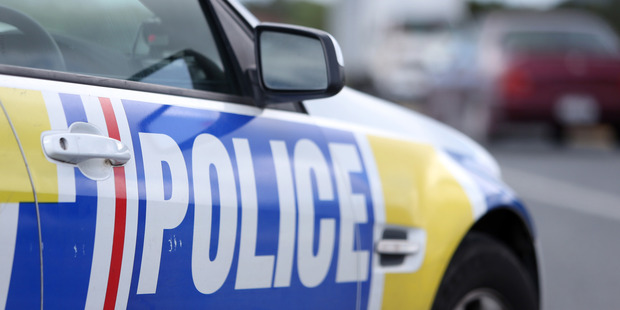 An allegedly drunk man, who was sporting a moustache, was arrested by police after crashing his car through a Hamilton traffic island early today. Photo / File