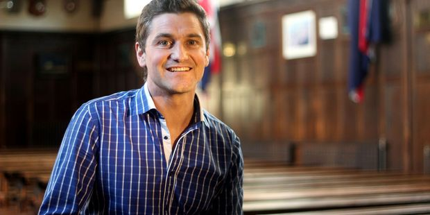 TVNZ reporter Matt Chisholm had to miss his son's birth due to the intense filming schedule for Survivor. Photo/Rebecca Ryan.