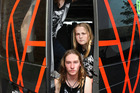 Teenage Waipu thrash metal band Alien Weaponry have released a debut single. Photo / Tania Whyte