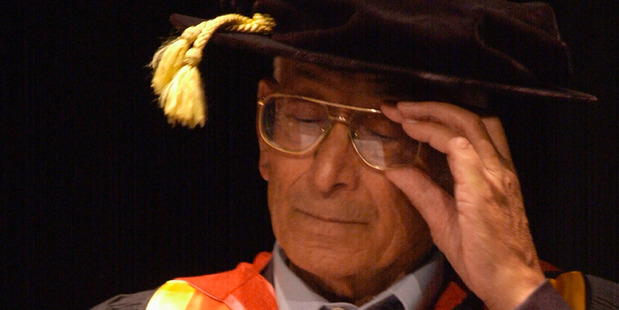 The late Ranginui Walker, a former pupil of Hato Petera College. Photo / file