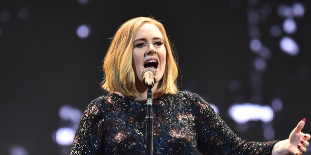 Adele is set for a bumper payday from her three Auckland concerts. Photo / Gareth Cattermole/Getty Images /
