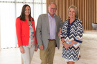 Company directors Annah Kight , David Mackersey, and Sarah Whyte inside the newest addition to the Hawke's Bay accommodation scene. PHOTO/SUPPLIED.