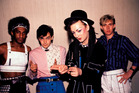CULTURE CLUB: Mikey Craig, Jon Moss, Boy George and Roy Hay. Photo / AP