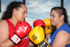 BRING IT ON: Kelly Bray (left) and Rebecca