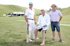 PITCH: James Nilsson (left) , Duncan Priest and Willie Murphy, club stalwarts of Clifton County Cricket Club which has just made the book 'World's Most Remarkable Cricket Grounds'. PHOTO DUNCAN BROWN