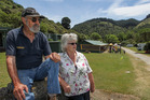 KUDOS: Bill and Anne Perry said money wasn't a factor in selling their Waipatiki Beach Holiday Park to council. PHOTO WARREN/BUCKLAND