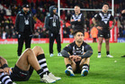 Shaun Johnson found that other play-making options were few and far between, which was detrimental to the Kiwi's and his own performance in the Four Nations. Photo/Photosport.nz