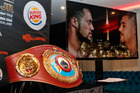 The WBO Heavyweight Title, on the line on December 10, will be at Whangarei's Burger King on Monday. Photo/Photosport.nz