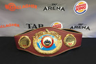 The WBO heavyweight title belt Joseph Parker will be fighting for in December.
