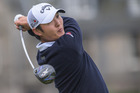 Rotorua's Danny Lee and teammate Ryan Fox will donate $500 for every team birdie made at the World Cup of Golf in support of Kaikoura. Photo/ Photosport.