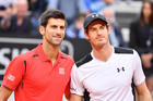 Andy Murray and Novak Djokovic will contest the No 1 ranking in the final tennis match of the year at the ATP Finals. Photo / Photosport