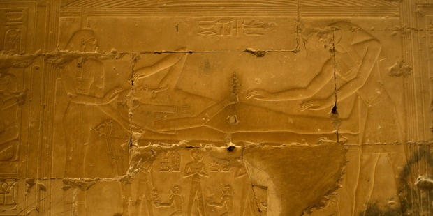 Abydos is famed for its temples such as that of Seti I and its graves. Photo / Getty Images