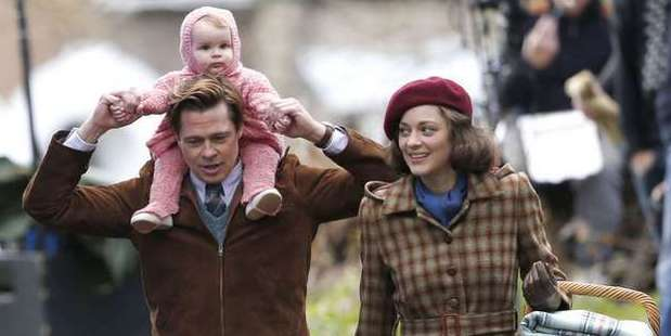 Brad Pitt plays Max Vatan and Marion Cotillard plays Marianne Beausejour in the film, Allied.