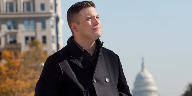 Loading Richard Spencer is the carefully crafted face of the so-called alt-right. Photo / Washington Post / Linda Davidson