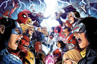 The Avengers and the X-Men faced off in the comics back in 2012.